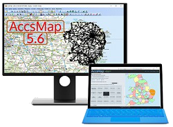 AccsMap and its Download Centre