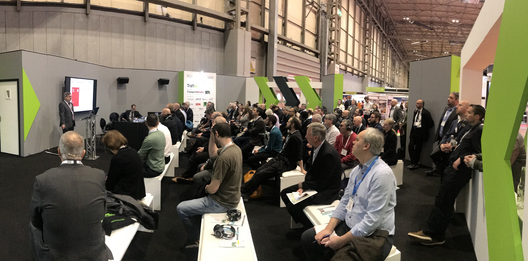 Simon Morgan speaking at Traffex 19